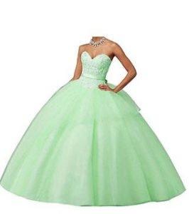 vestidos verde mujer quinceañera