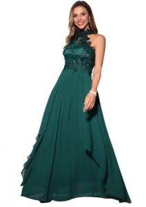 vestidos verde militar para una boda