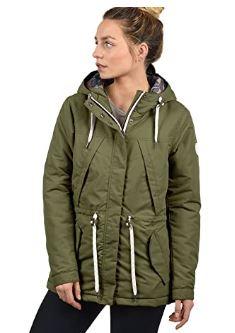 chaqueta entretiempo verde militar