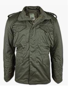 chaqueta verde militar m65