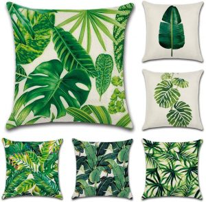 cojines verdes decorar casa
