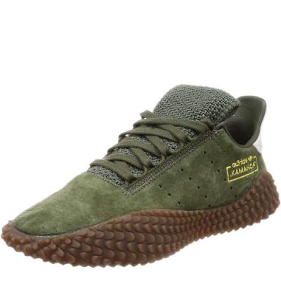 zapatilla verde militar hombre