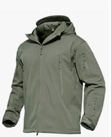 chaquetas verde militar talla grande
