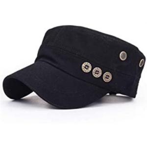gorras militares negras mujer