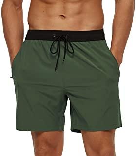 bañador en color verde militar para hombre