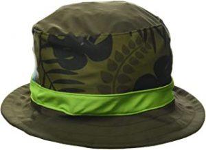 gorro niña verde militar