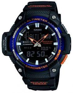 Reloj casio en color negro y azul