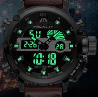 Relojes militares para hombres con iluminación led