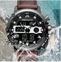 Reloj pulsera para hombre resistente al agua