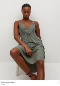 vestido  nueva coleccion verde