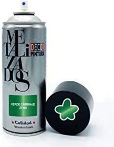 pintura llantas verde