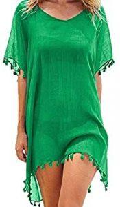 vestiodo de baño verde militar
