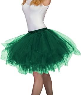 falda verde militar tutú