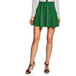 falda corta verde
