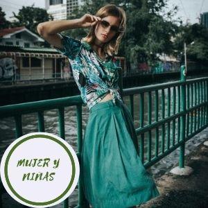 faldas verde militar