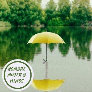 paraguas verdes